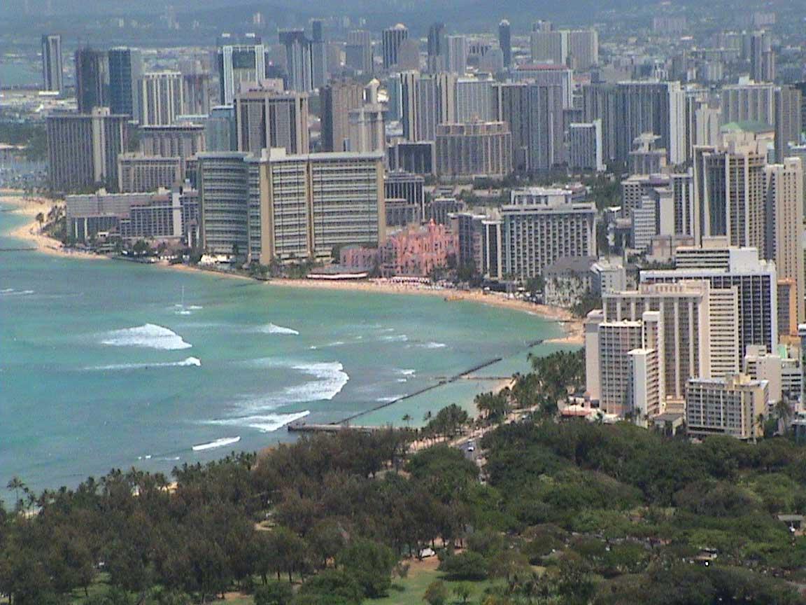 Honolulu Skysc Rs  Picture Honolulu