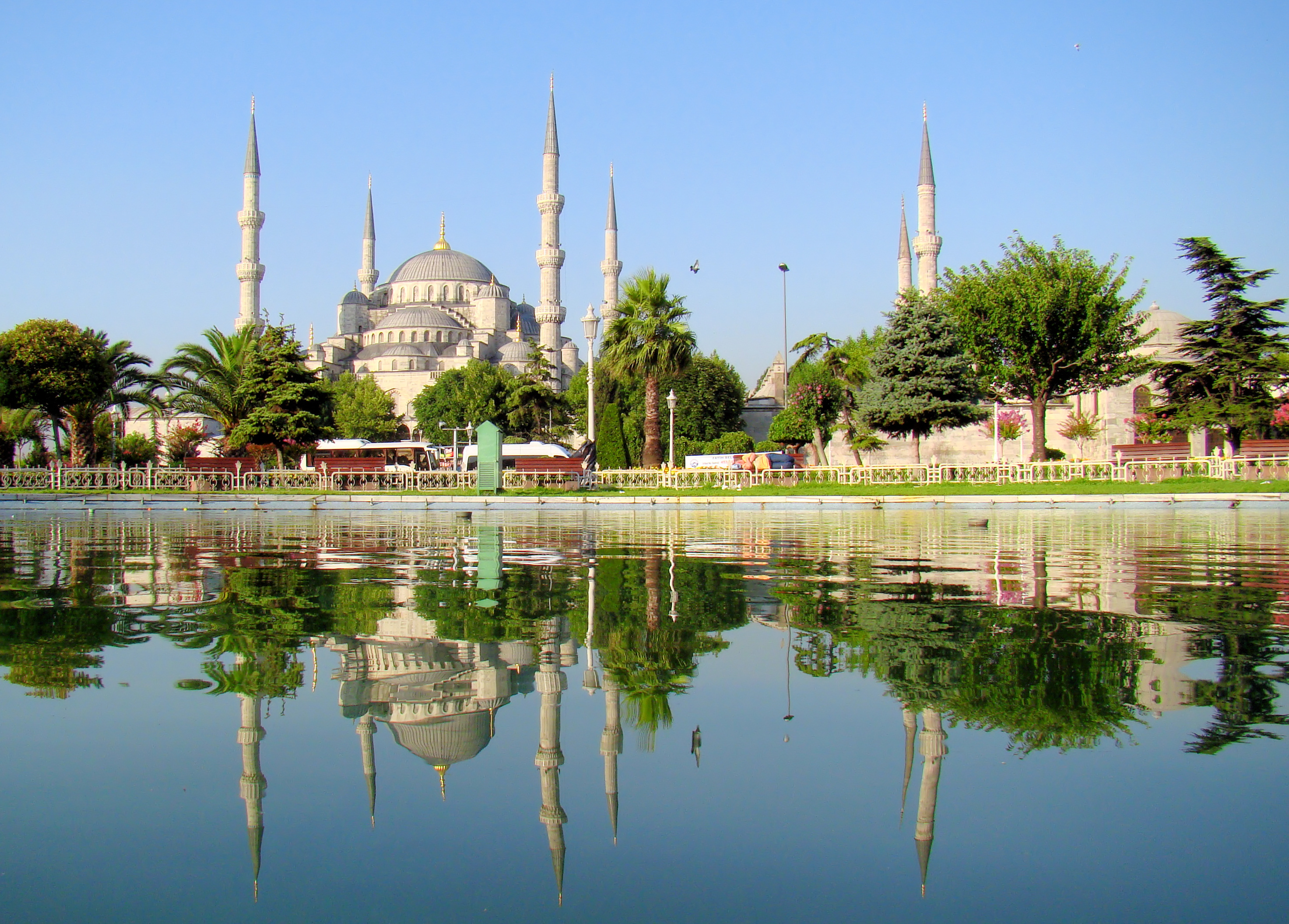 Blue Mosque Istanbul Mirrored