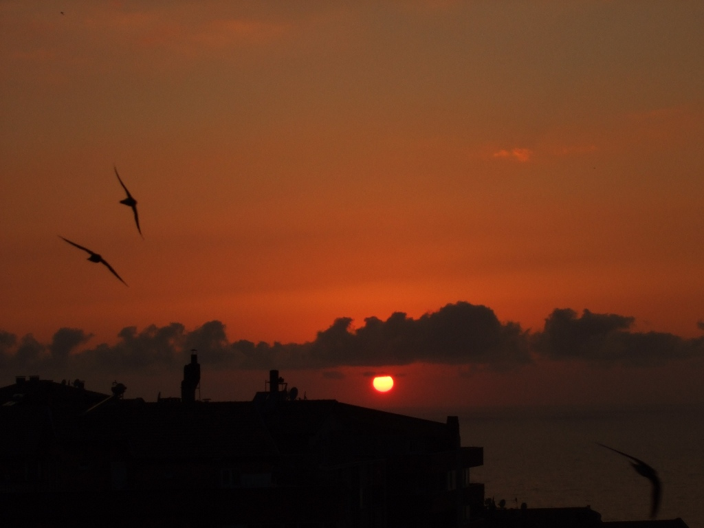 zonguldak sunset 1024 x 768