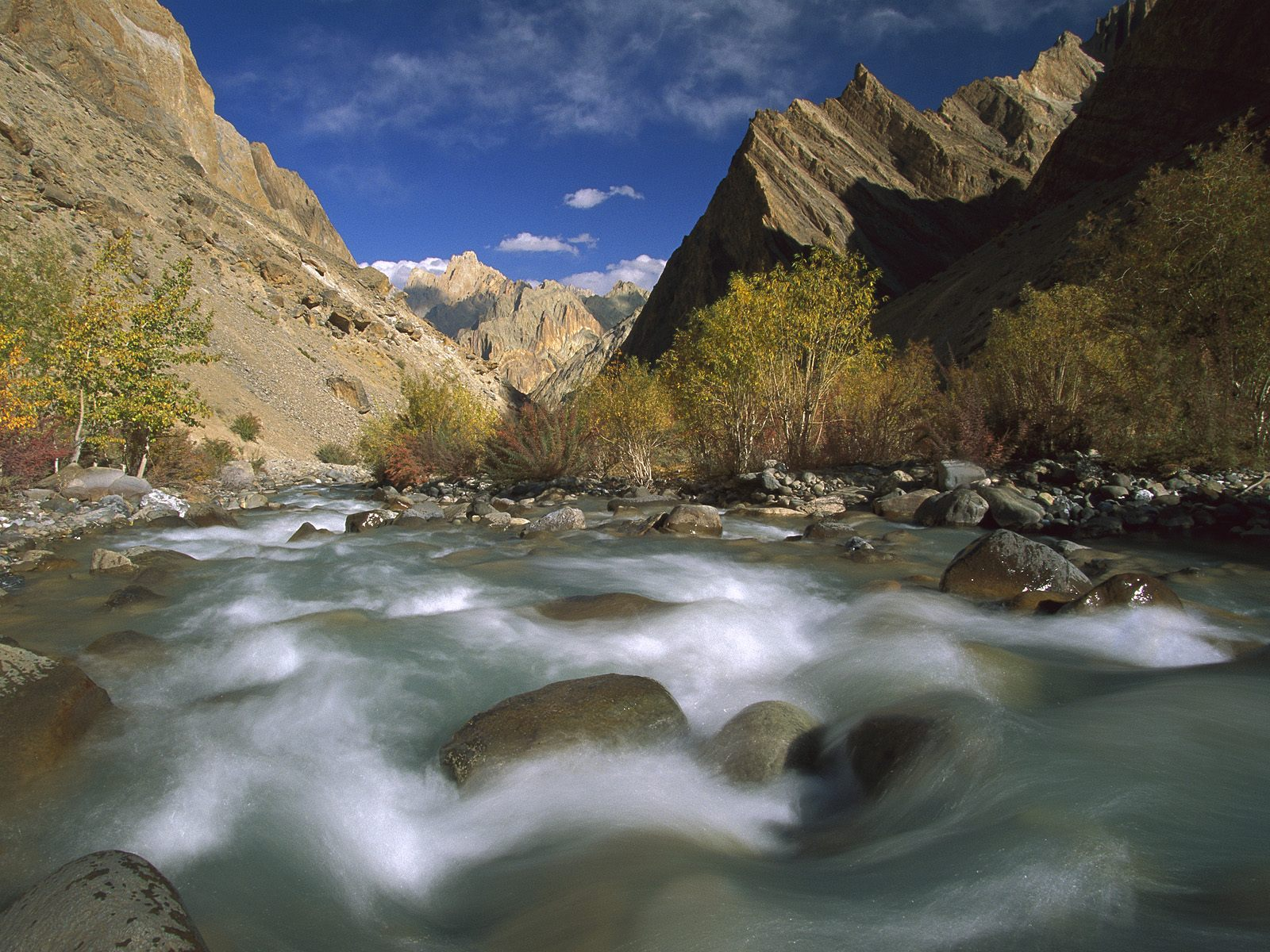 Hanupata River Gorge Ladakh India