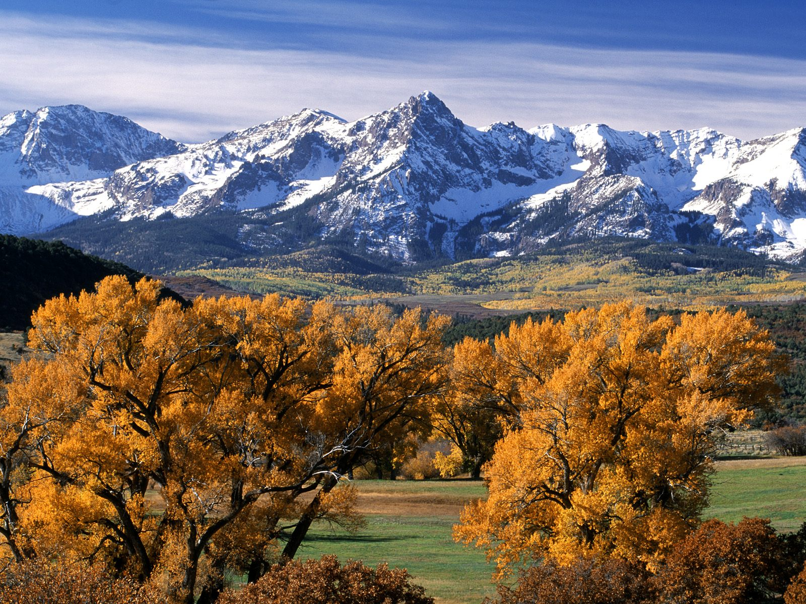 Autumn Colors Sneffels Range Colorado 1600 x 1200