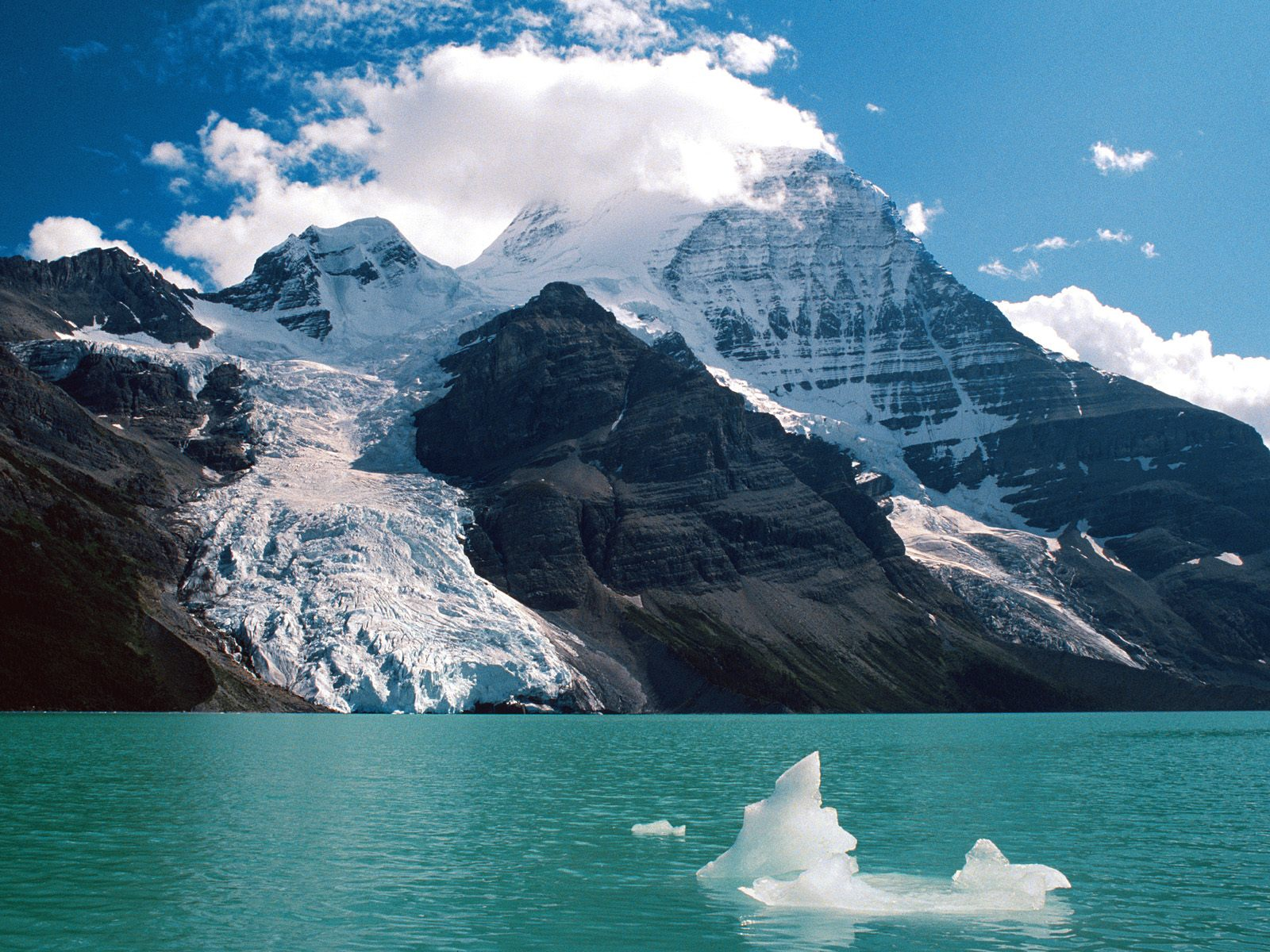 Mount Robson and Berg Lake Canadian Rockies