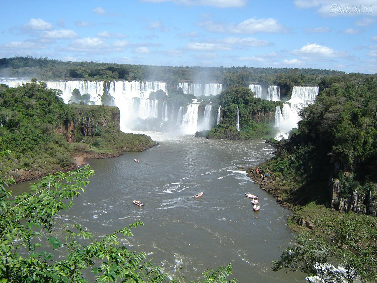 Cataratas do Igua�u Paran�