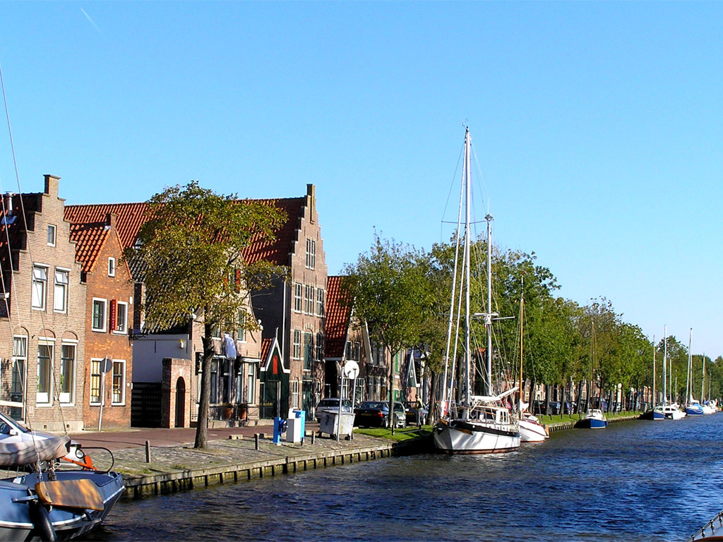 Edam river The Netherlands