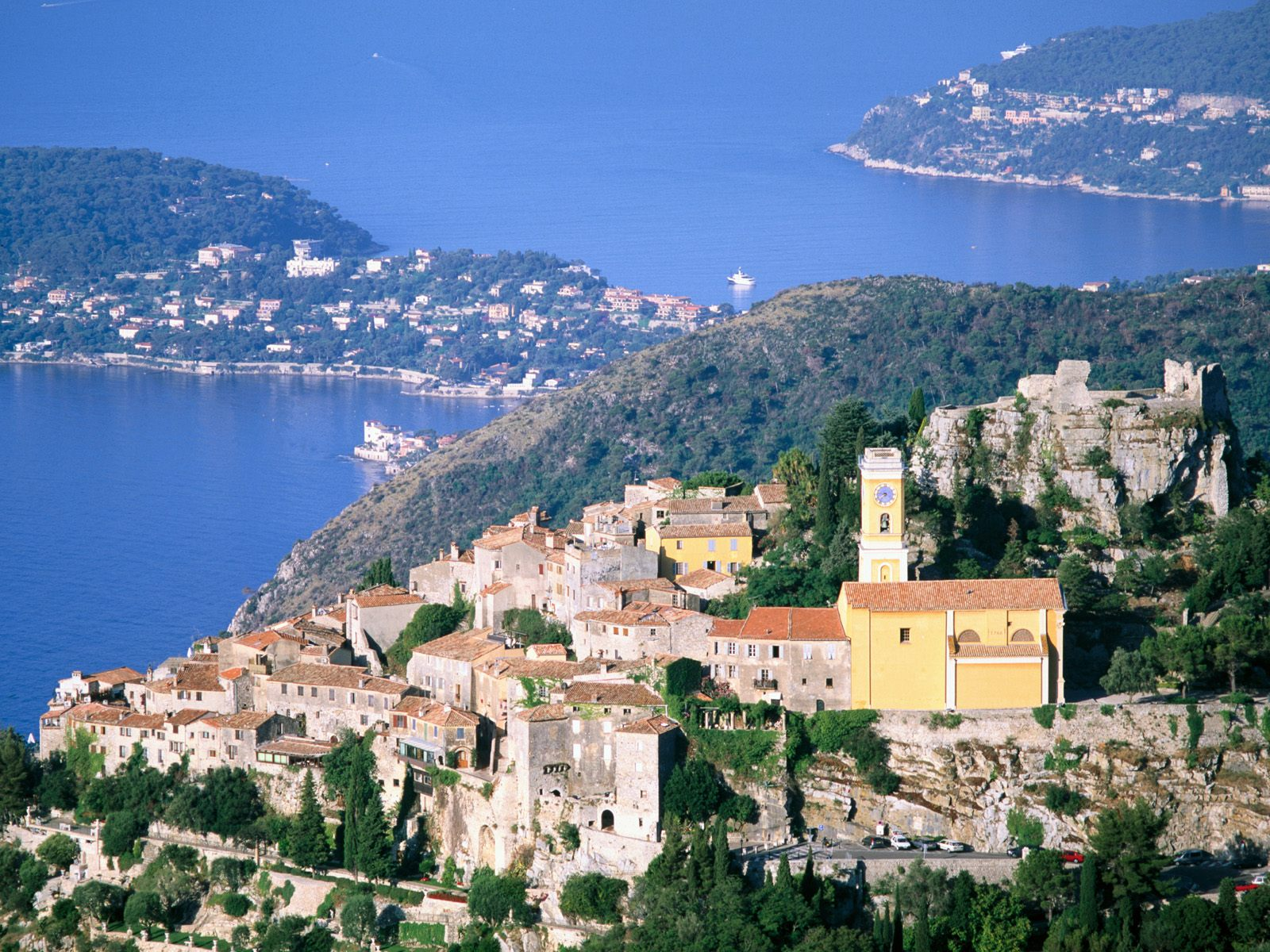 Eze and Cap-Ferrat 1600 x 1200