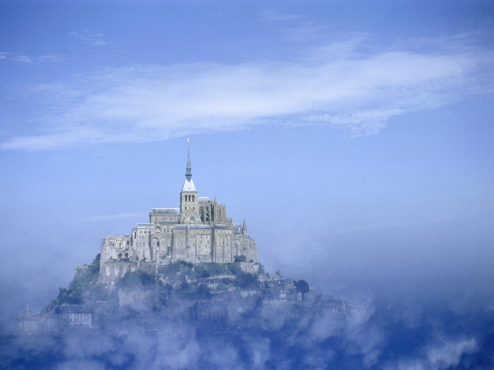 Mont Saint Michel Abbey 1600 x 1200