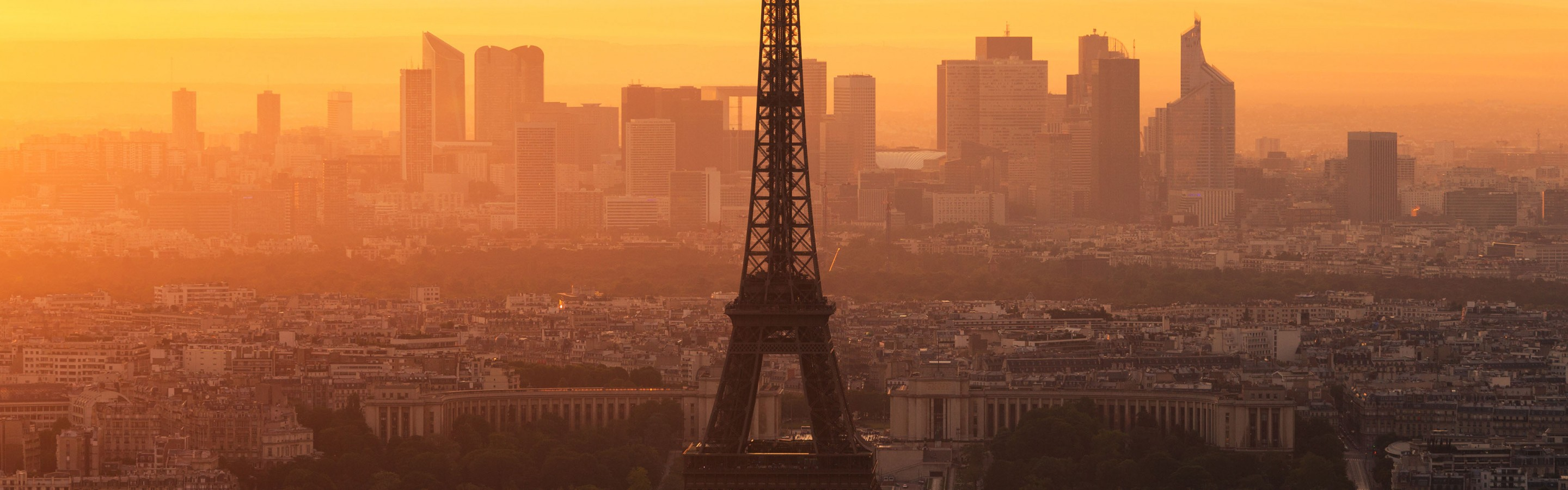 Paris morning 2880x900