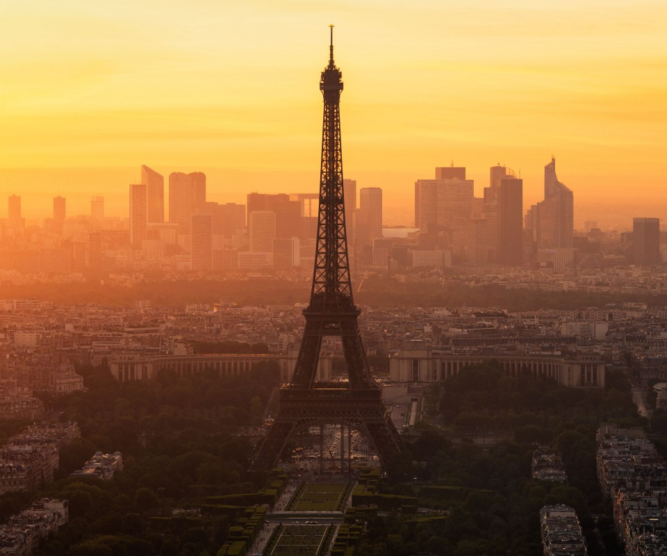 Paris morning 960x800
