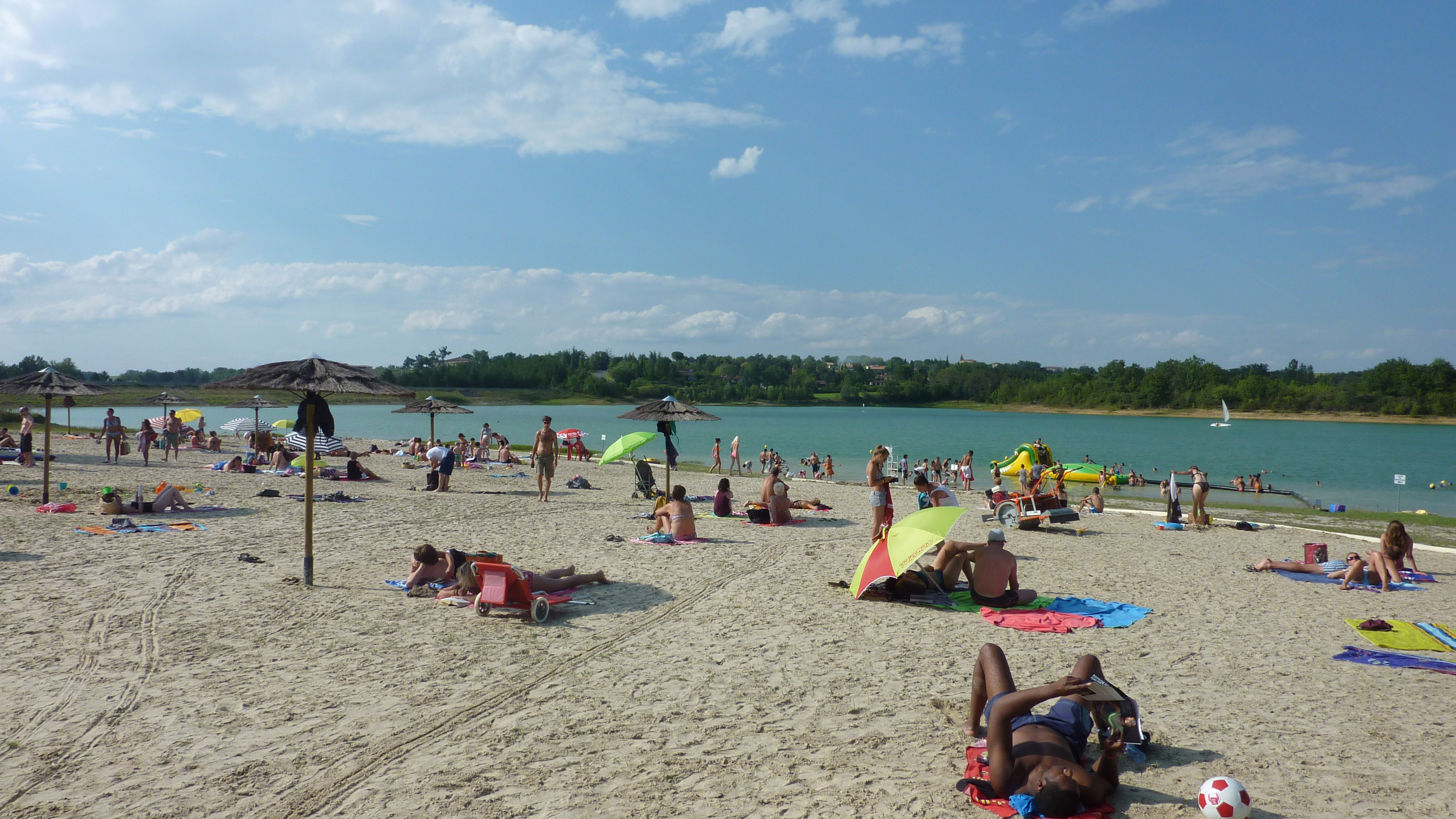 plage gers camping toulouse piscine