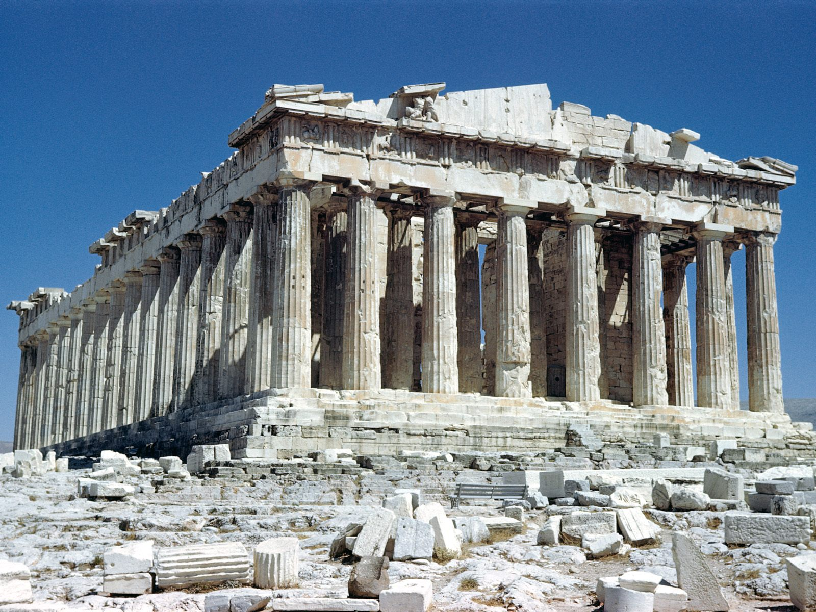 The Parthenon Acropolis 1600 x 1200