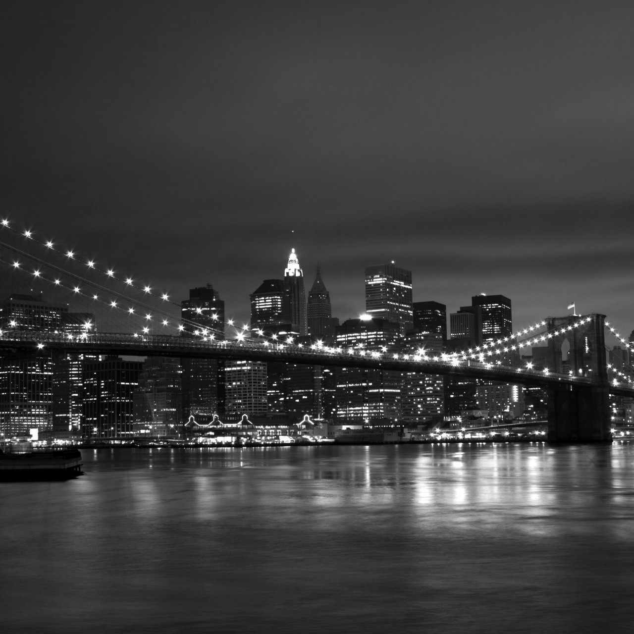 New York Black White 1280x1280