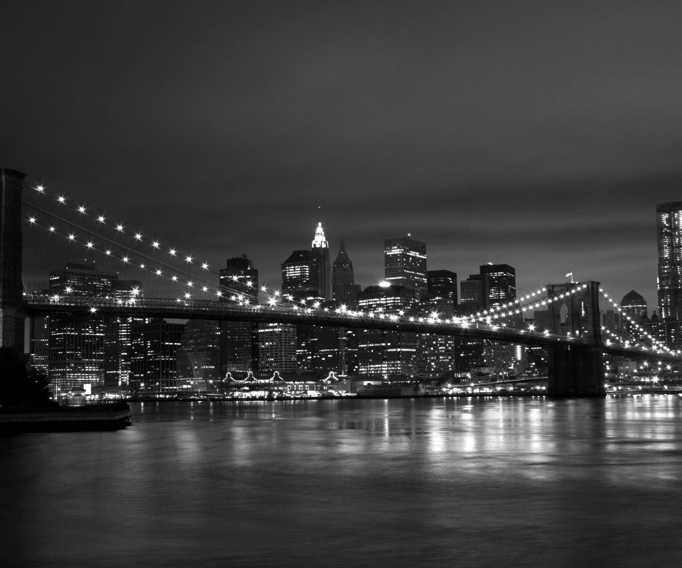 New York Black White 960x800