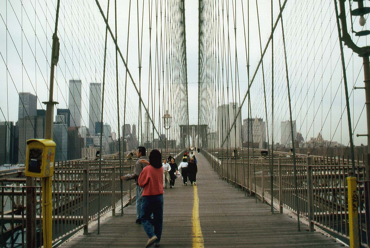 Brooklyn Bridge Pedestrian 1286x864