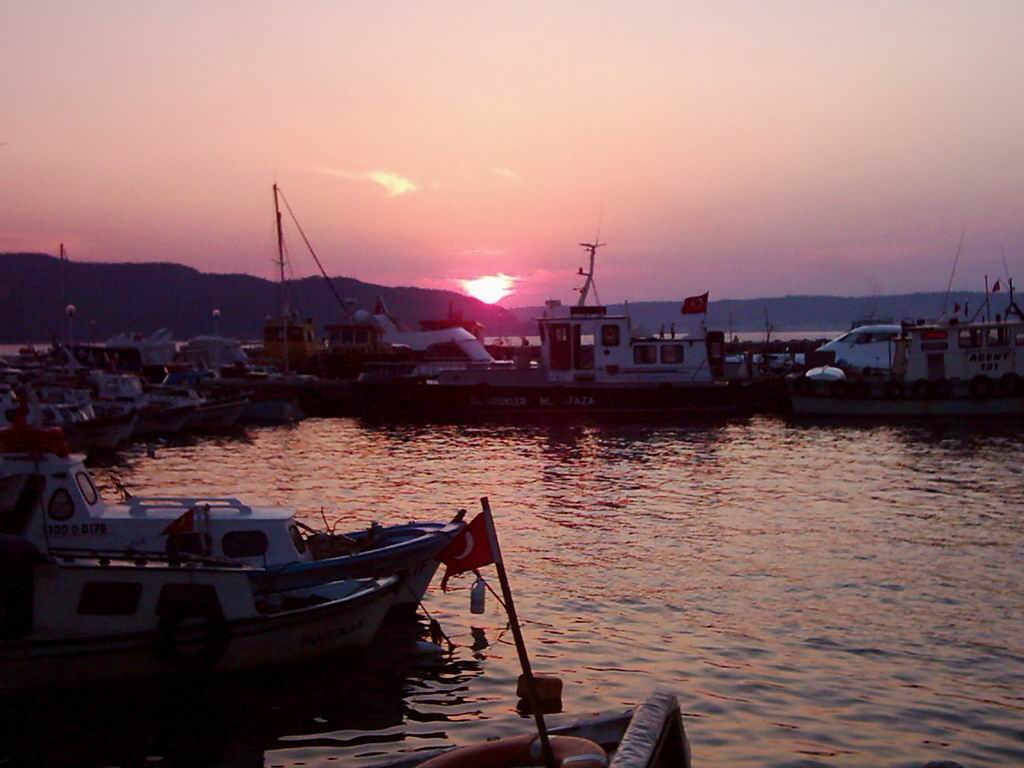 Canakkale sunset