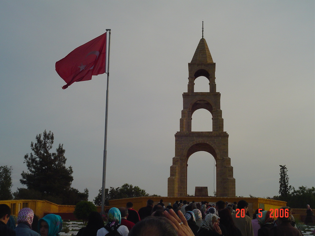 Canakkale turkish flag