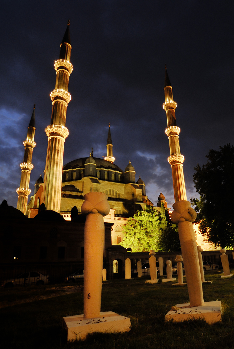 edirne mosque night 750 x 1120