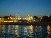moscow night river 1280 x 960