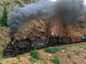Cumbres and Toltec Steam Train Colorado 1600 x 1200