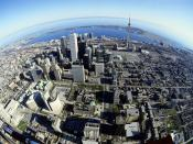 Birds Eye View of Toronto