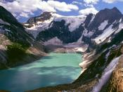 Lake of the Hanging Glaciers British Columbia
