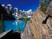 Moraine Lake and Valley of the Ten Peaks Banff National Park