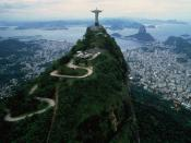 View From Corcovado Brazil