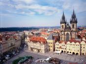 Old Town Square and Tyn Church Prague
