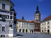 The Town of Mikulov South Moravia