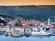 Port of Jelsa Hvar Island