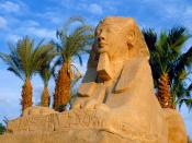 Avenue of Sphinxes Luxor