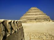 Cobra Figures and the Step Pyramid Saqqara