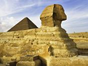 The Sphinx Giza Near Cairo