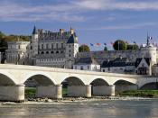 Chateau d'Amboise and Bridge Loire Valley 1600 x 1200