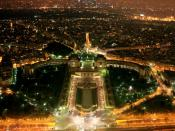 Paris night view 1024x768