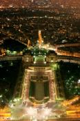 Paris night view 320x480