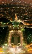 Paris night view 480x800