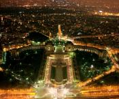 Paris night view 960x800