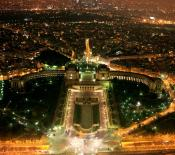Paris night view 960x854