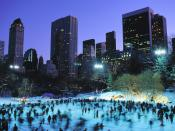 Skaters at Wollman Rink Central Park 1600x1200